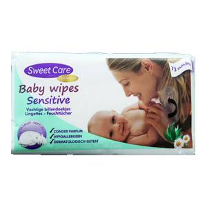 SweetCare Sensitive babydoekjes