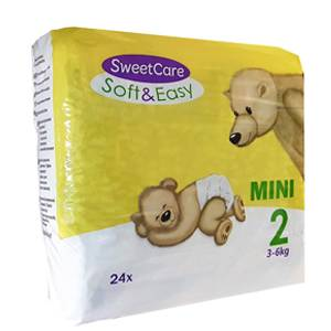 SweetCare luiers SOFT&EASY Mini (Pak)
