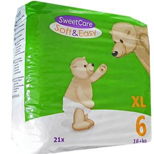 SweetCare luiers SOFT&EASY XL (Pak)