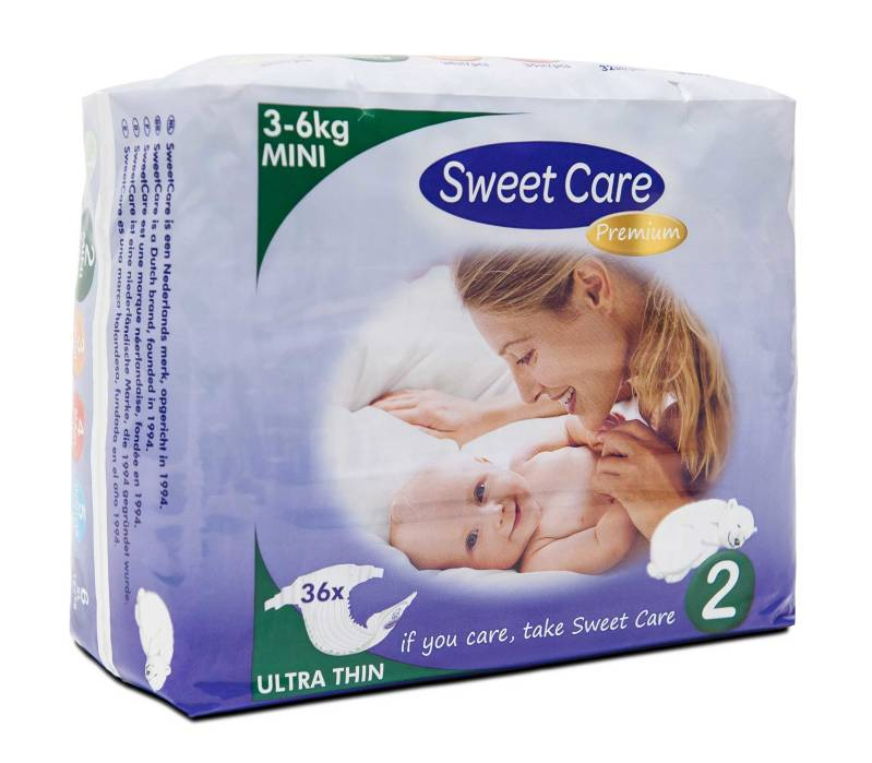 SweetCare luiers Ecofriendly ULTRADUN Mini (Pak)