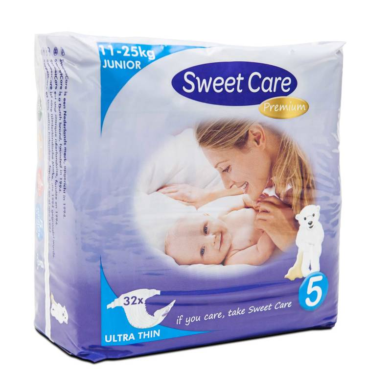 SweetCare luiers Ecofriendly ULTRADUN Junior (Doos)