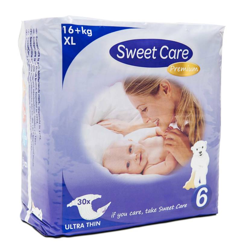SweetCare luiers Ecofriendly ULTRADUN XL (Doos)