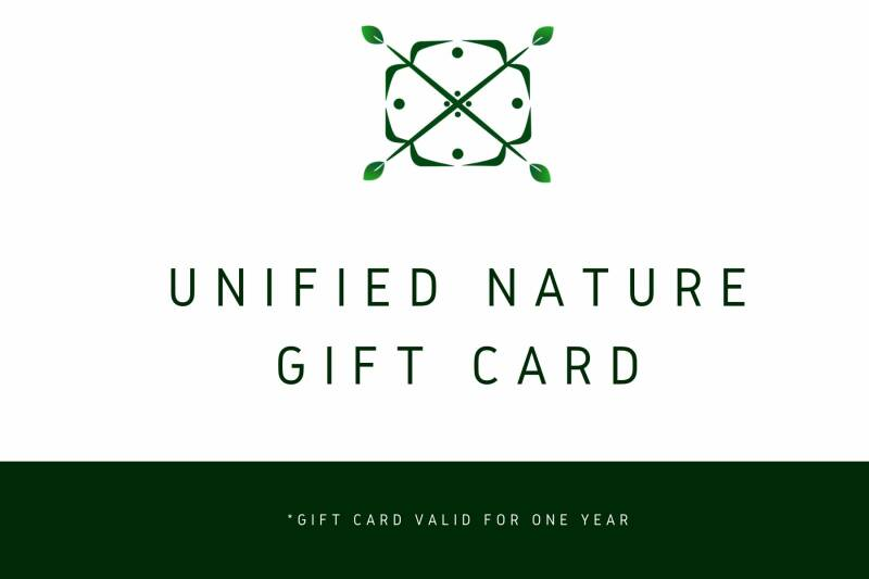 Unified Nature Gift Card