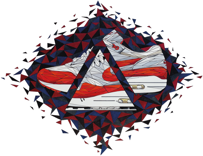 Air Max 1 Classic Red A3 420x297