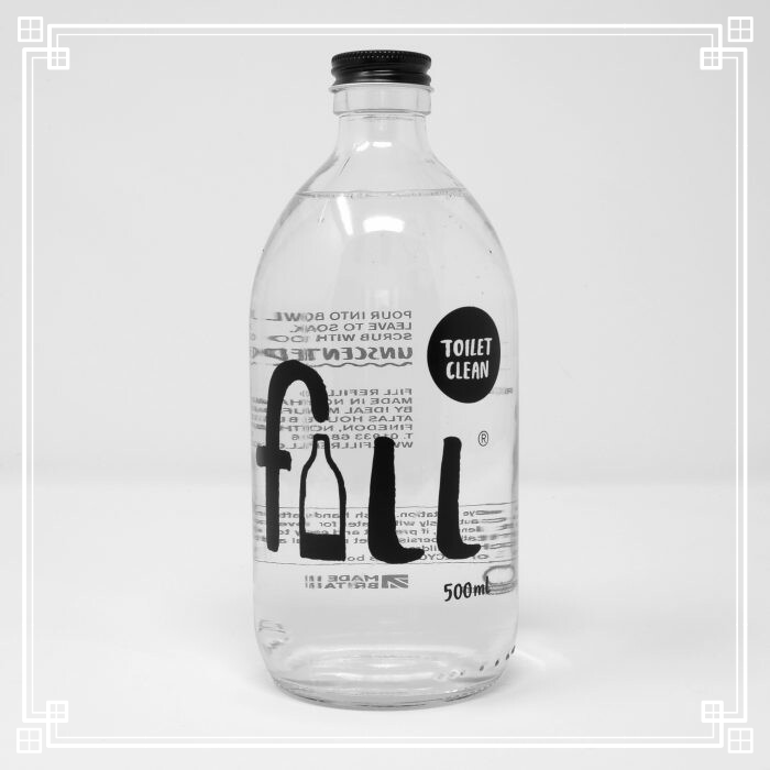 Fill Toilet Cleaner with Bottle (500ml)
