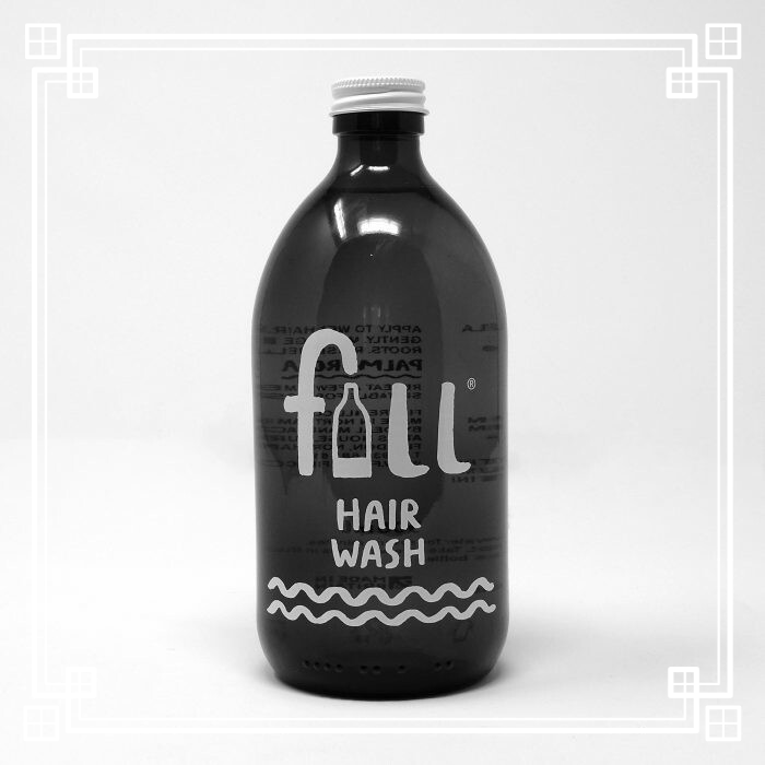 Fill Hair Wash with Bottle (500ml)