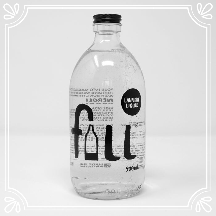 Fill Laundry Liquid with Bottle (500ml)
