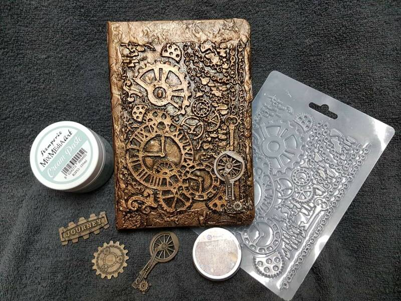 Notebook steampunk