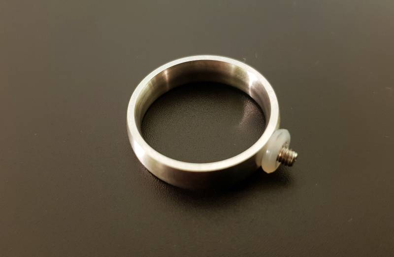 Ring for interchangeable ringtops
