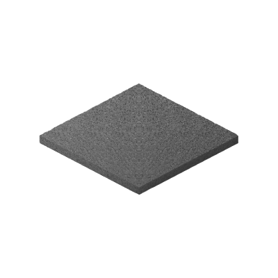 Rubber 8x90x90 mm
