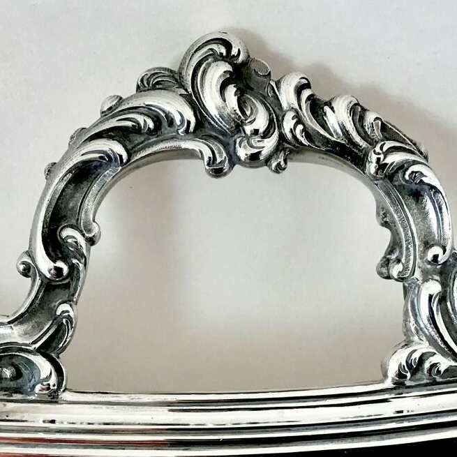 Large tray, Louis XV, Altenloh, sterling silver