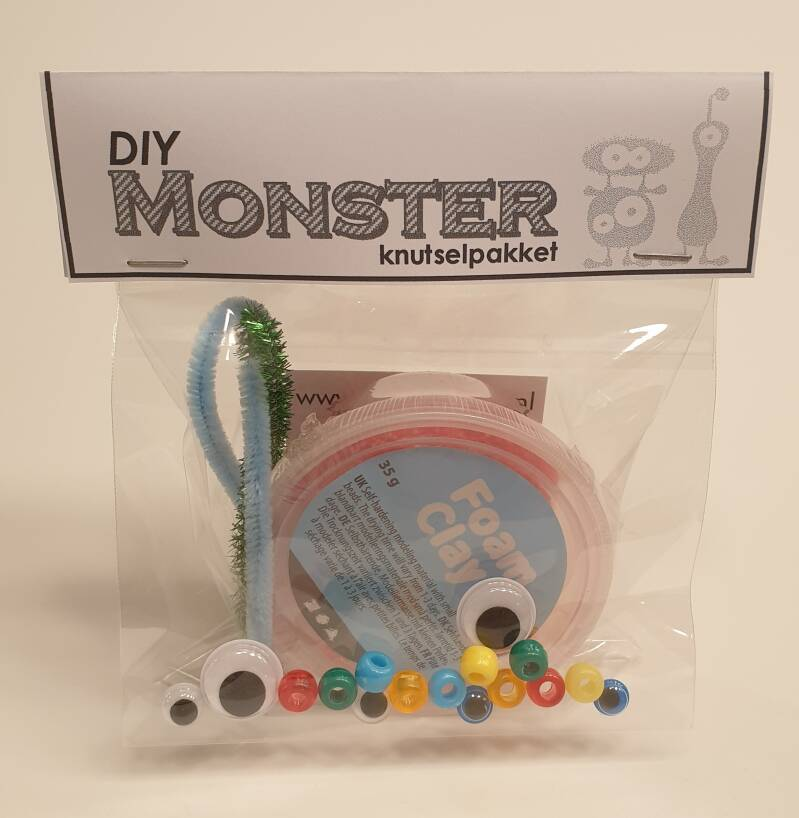 Monster knutselpakketje
