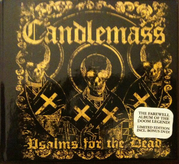 Candlemass – Psalms For The Dead CD/DVD