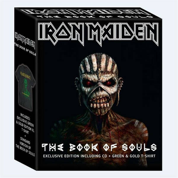 Iron Maiden – The Book Of Souls Inc Tshirt XL