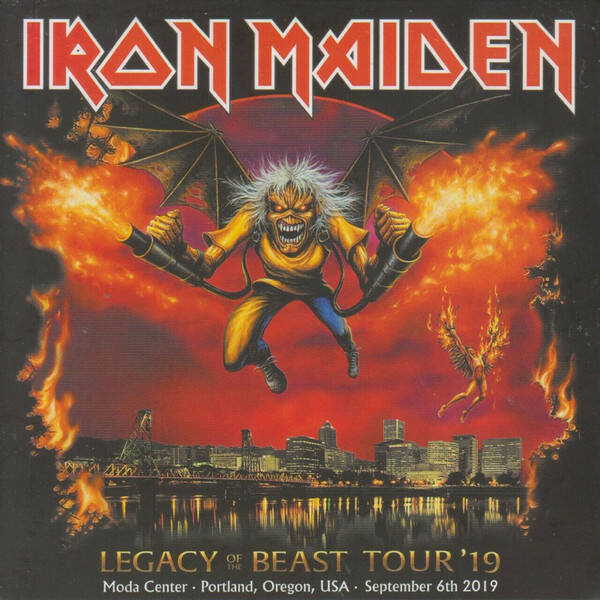 Iron Maiden – Legacy Of The Beast Tour '19 - Live In Portland