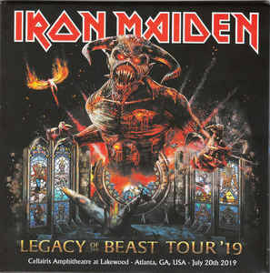 Iron Maiden – Legacy Of The Beast Tour '19 - Live In Atlanta