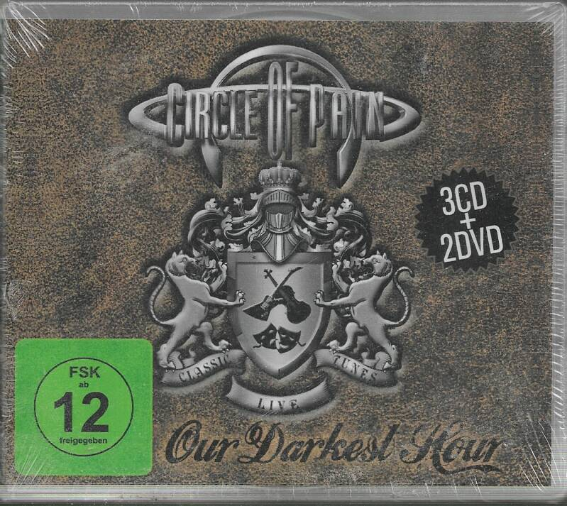 Circle of Pain - Our Darkest Hour  3 cd+2dvd