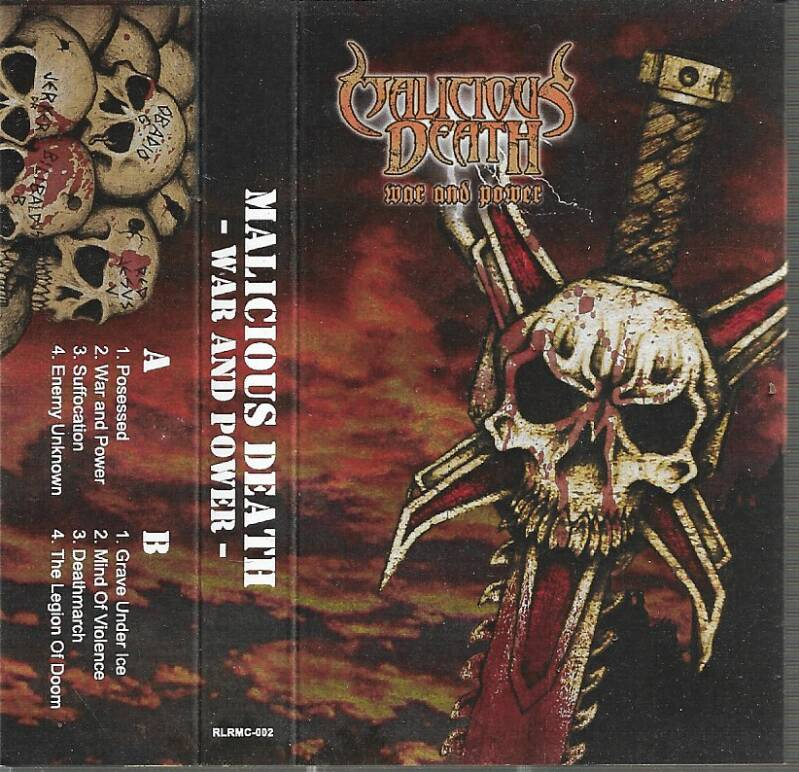 Malicious Death – War And Power