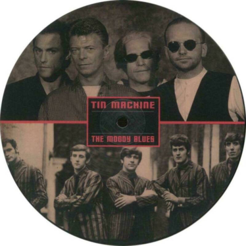 """Tin Machine / The Moody Blues – Go Now , Picture Disk  7"""""""