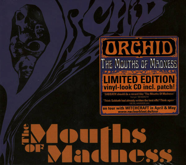Orchid – The Mouths Of Madness inc Patch