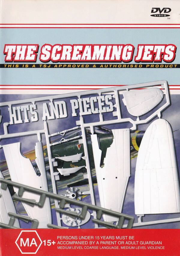 The Screaming Jets – Hits And Pieces  Australian Press