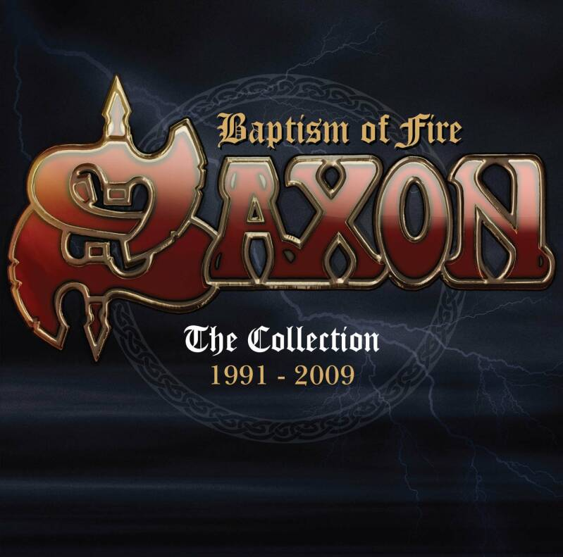 Saxon – Baptism Of Fire : The Collection 1991 - 2009 2cd