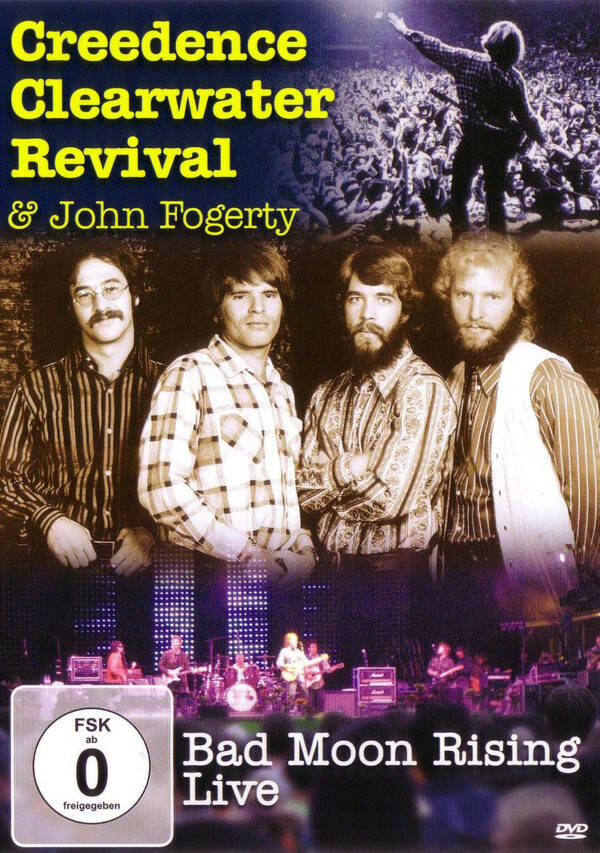 Creedence Clearwater Revival & John Fogerty – Bad Moon Rising Live