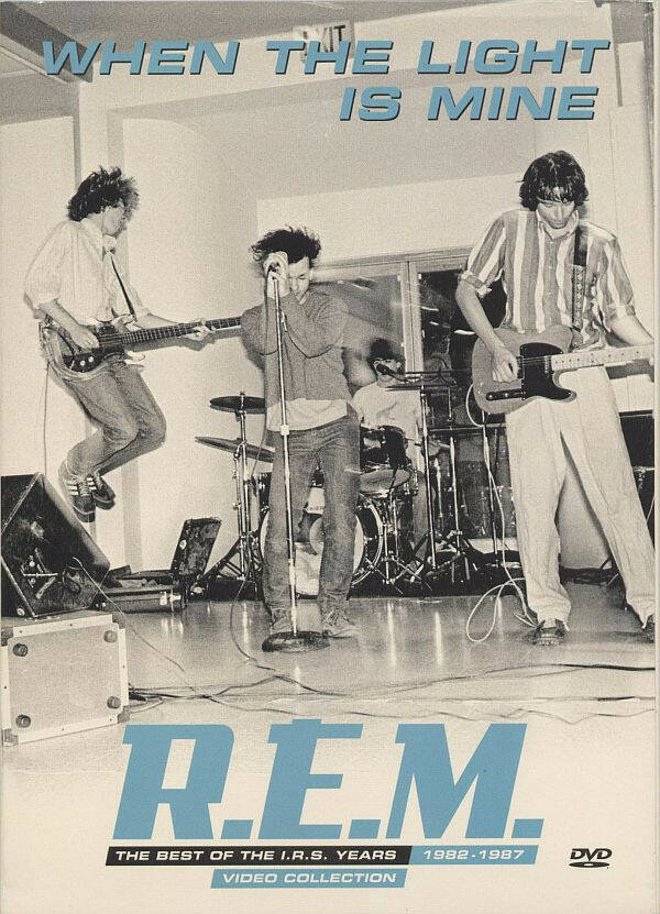 R.E.M. – When The Light Is Mine - The Best Of The I.R.S. Years 1982-1987 Video Collection