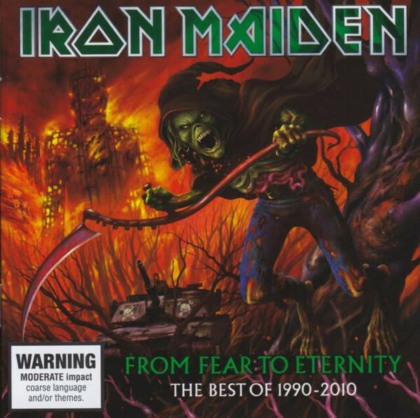 Iron Maiden – From Fear To Eternity (The Best Of 1990-2010)  Aussie press