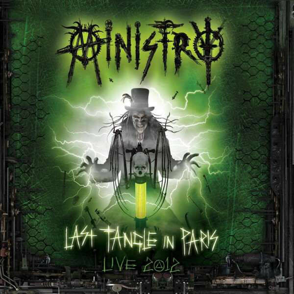Ministry – Last Tangle In Paris Live 2012  2 x CD+Blu-ray