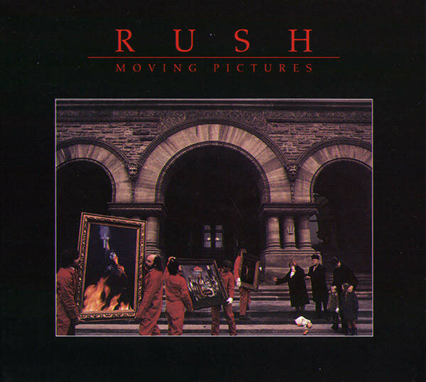 Rush – Moving Pictures 2cd  Canada press