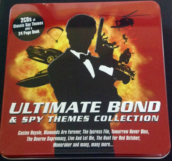 Ultimate Bond & Spy Themes Collection 2cd