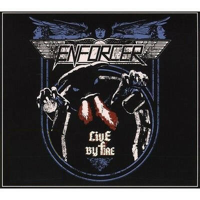 Enforcer – Live By Fire cd+dvd
