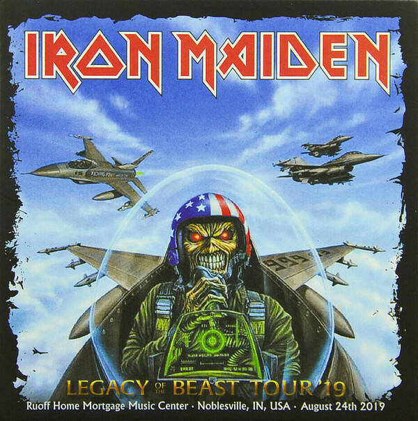 Iron Maiden – Legacy Of The Beast Tour '19 - Live In Noblesville 2CD