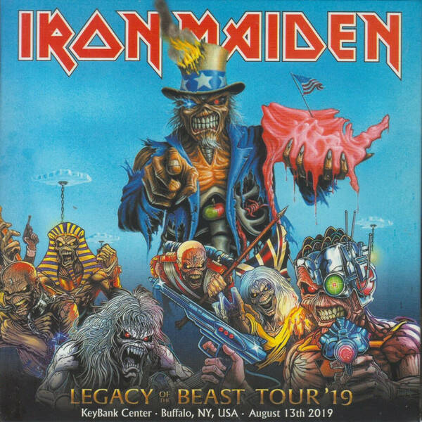 Iron Maiden – Legacy Of The Beast Tour '19 - Live In Buffalo 2Cd