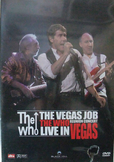 The Who – The Vegas Job Reunion Concert Live In Vegas