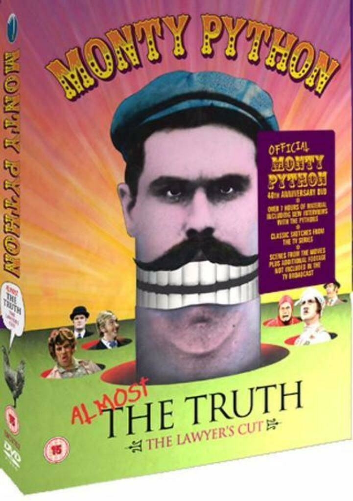Monty Python: Almost the Truth - The Lawyer's Cut 3 disk boxset