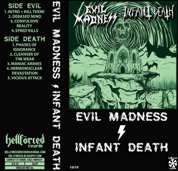 Evil Madness / Infant Death - S/T