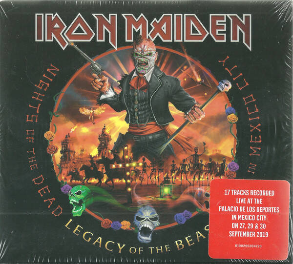 Iron Maiden – Nights Of The Dead, Legacy Of The Beast: Live In Mexico City