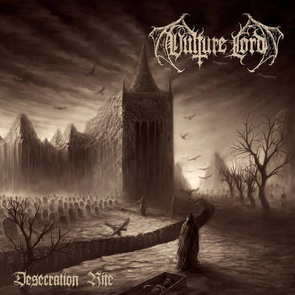 Vulture Lord – Desecration Rite  RED vinyl