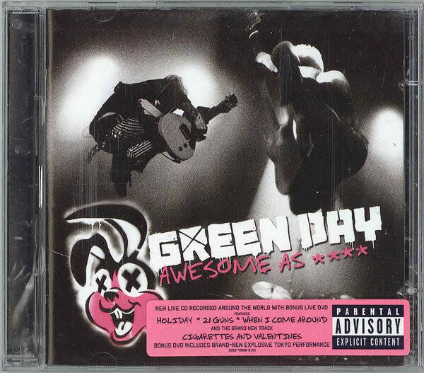 Green Day – Awesome As F**k  Cd+Dvd