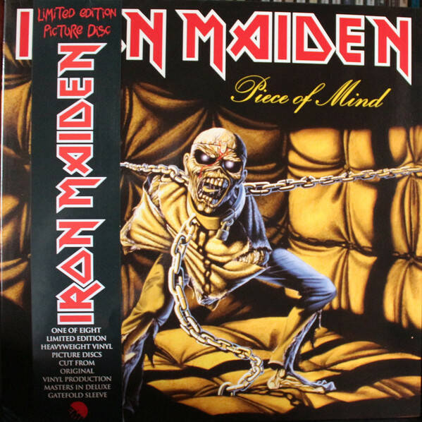 Iron Maiden – Piece Of Mind Picture Disc