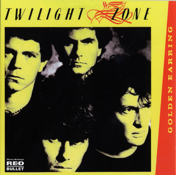 """Golden Earring – Twilight Zone / When The Lady Smiles RSD 7"""" Yellow"""