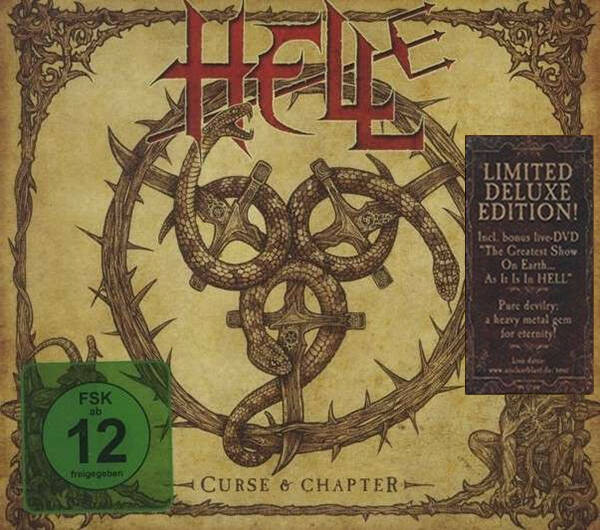 Hell – Curse And Chapter 2cd deluxe edition