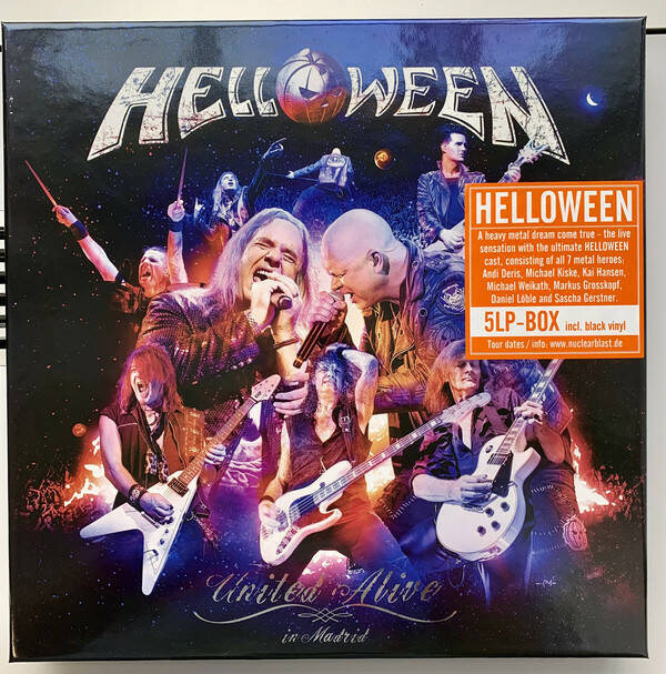 Helloween – United Alive In Madrid  box