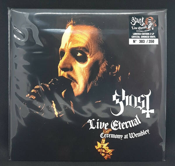 Ghost – Live Eternal Ceremony At Wembley 2lp Smoked Vinyl  119 of 350