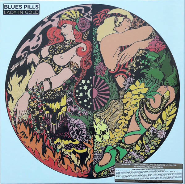 Blues Pills – Lady In Gold   Box Set, Limited