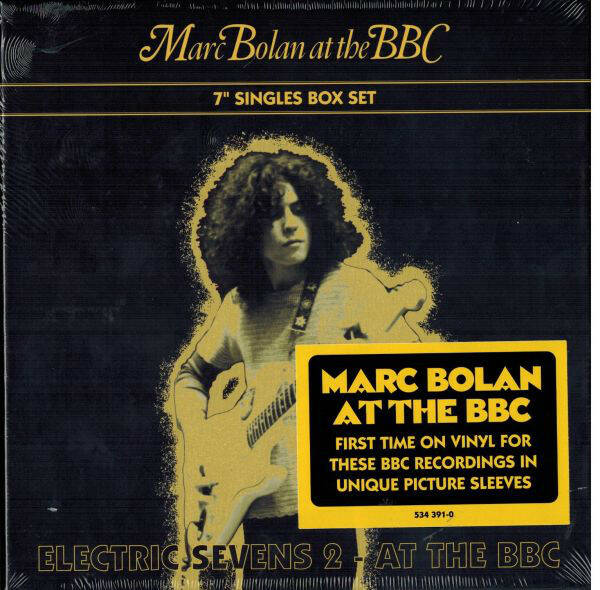 """Marc Bolan – Electric Sevens 2 - At The BBC  NEW ;) 7"""""""