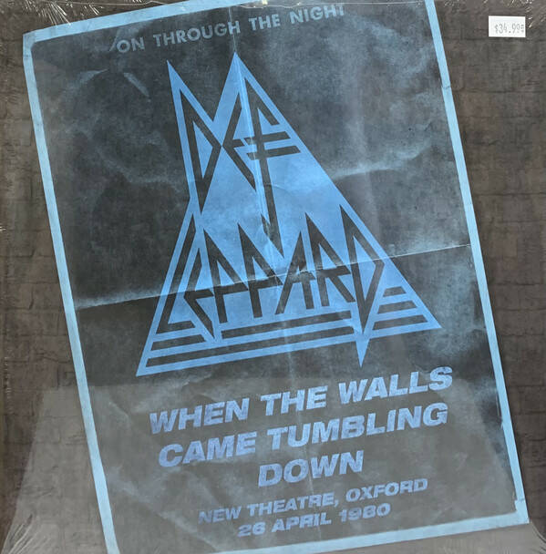 Def Leppard – When The Walls Came Tumbling Down (New Theatre, Oxford - 26 April 1980)