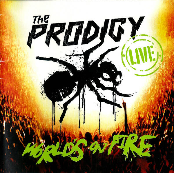 The Prodigy – Live - World's On Fire 2 disk US press